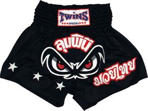 Twins Thai Style Trunks Black